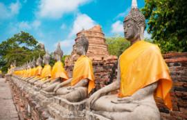 タイ 仏像の画像