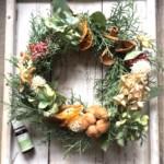 【終了】森の香りのクリスマスリース
